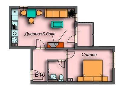 """Поларис Ин"" – Банско, Апартамент B10"