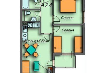 """""""Поларис Ин"""" – Банско, Апартамент A24"""
