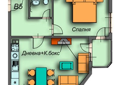 """Поларис Ин"" – Банско, Апартамент B5"