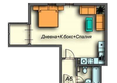 """""""Поларис Ин"""" – Банско, Апартамент А6"""
