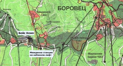 map_The Base Camp_Borovets